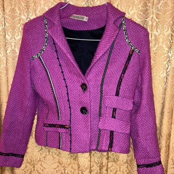 canvasbacks Jackets & Blazers - Cute pink blazer!